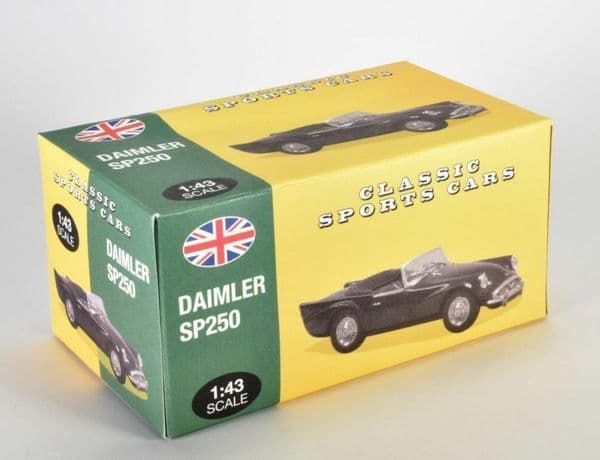 Atlas KL26 1/43 Scale Classic Sports Cars Daimler SP250 - British Racing Green